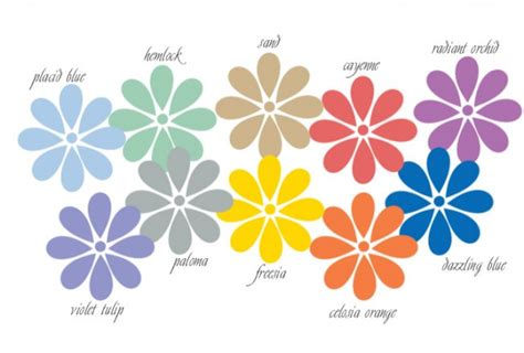 spring seasonal colors uk 2014 capsules spring and summer colours 2014 counting flowers