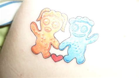 sour patch kid tattoo evil sour patch pictures to pin on