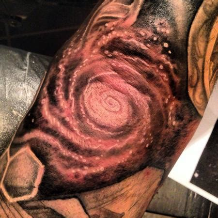 stevie monie tattoos tattoos star outerspace galaxy