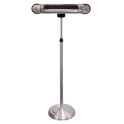 heat l home depot az patio heaters 1 500 watt adjustable infrared heat l