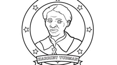coloring page for harriet tubman harriet tubman grandparents com