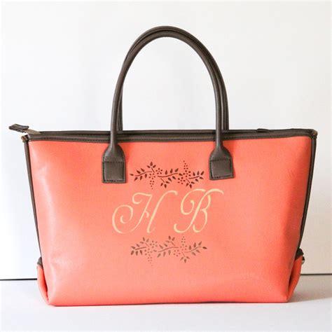 Monogramme Toto by Monogram Tote Bag Monogrammed Purses Vegan Leather Tote Bag
