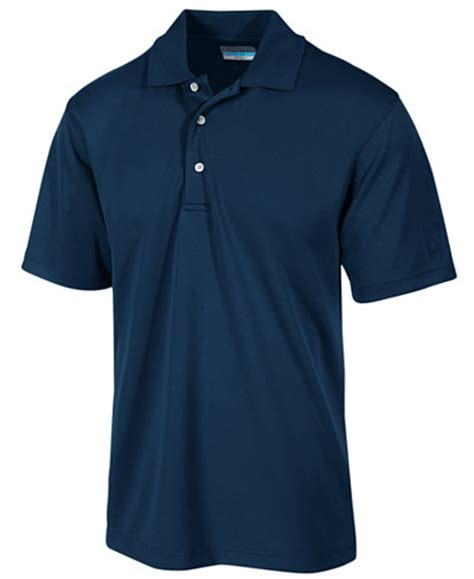 Day M162 Kenneth Navy Valentinecoming pga tour s airflux solid golf polo shirt polos macy s