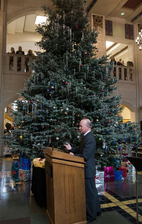 did you know purdue memorial union s christmas tree