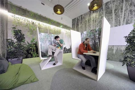 google employees in zurich zooglers have the world s coolest re silent room with plant ideas interior design ideas