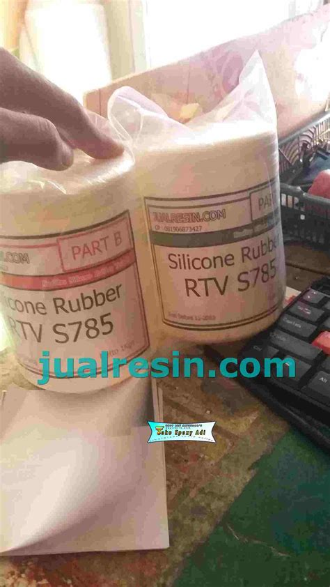 Silicon Rubber Rtv 586 jual resin