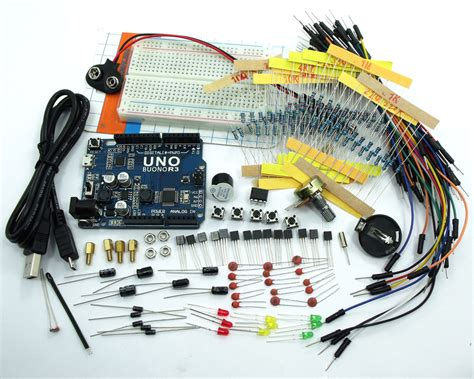 best resistors for arduino ask 02 electronic project starter kit uno r3 for arduino resistors capacitor led in other