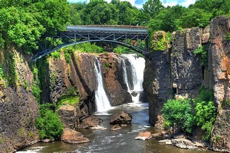 garden falls nj national park paterson great falls new jersey albany