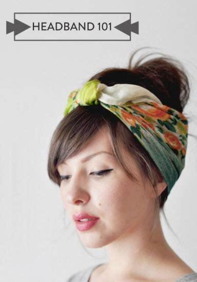 headbands to hide thinning hair headband 101 4 very modern ways to wear the hair
