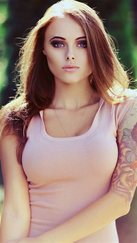 hot tattoo girls wallpapers for phones in hd quality