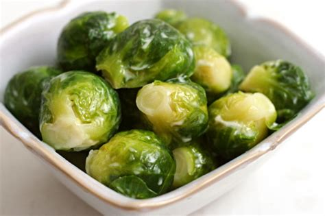 Brussels Sprouts Braised In Cream
