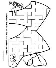 mazes printable activities for kids 002