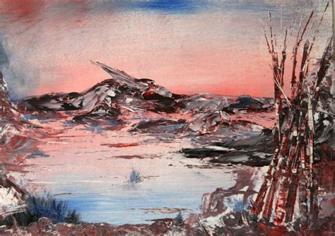 bob ross painting with palette knife bob ross meets sfx bob ross tv of painting inspires