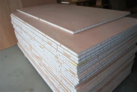 lightweight structural marine honeycomb sandwich plywood