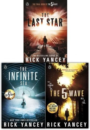 Novel The 5th Wave Karya Rick Yancey rick yancey collection the 5th wave series 3 books set the last the infinite sea the 5th