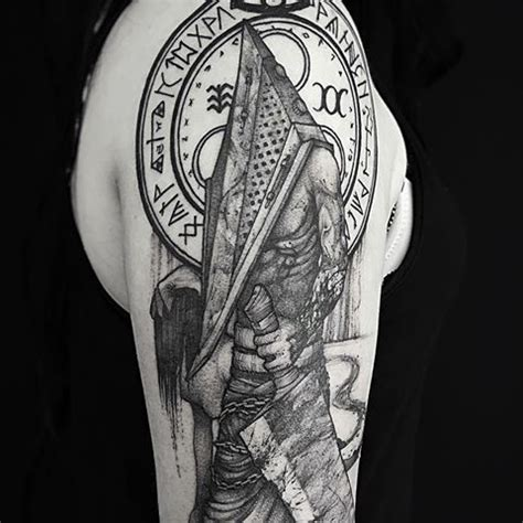 silent hill tattoo 199 best silent hill tattoos images on silent