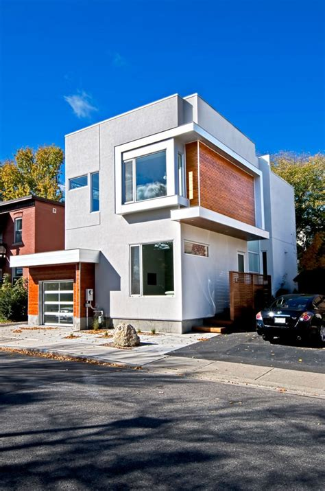 Modern House Design Jaragua Residence Canada Une Maison Moderne 224 Ottawa Par Le Studio Linebox