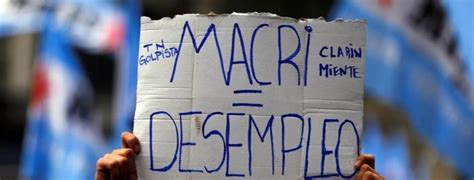 tasa de desempleo en el ultimo trimestre argentina 2016 tasa de desempleo en argentina sube a 9 2 en el primer