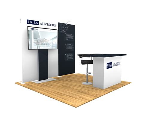 design a booth online 10x10 turn key trade show booth design 1401 interlink plus
