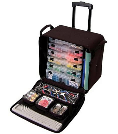 bead carrying crop in style rolling bead tote black arts