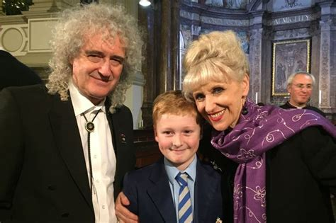 brian may family boy pays tribute to charity that kept family together