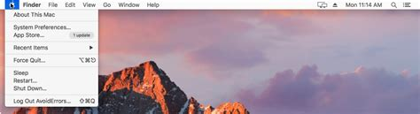 mac os x top bar disable automatic app updates in mac os x sierra avoiderrors