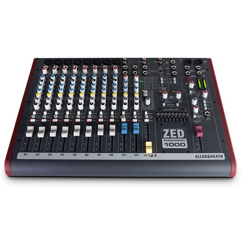 Mixer Allen Heath Zed 16 allen heath zed power 1000 mixer a gear4music