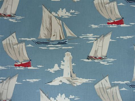 boat upholstery fabric online clarke clarke maritime skipper marine f0409 01 cotton fabric