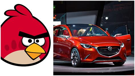 Angry Birds Auto by New Mazda2 To Feature Angry Birds Design Language