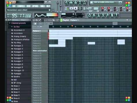 tutorial fl studio demo fl studio 9 demo dr dre scott storch type instrumental