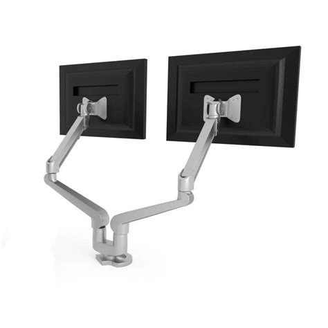 hon adjustable height desk hon dual monitor height adjustable 2 screen desk mount
