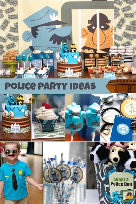 party themes 4 year olds police birthday party for 4 year old boy family review guide