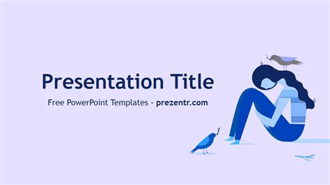 Depression Powerpoint Template free depression powerpoint template prezentr powerpoint templates