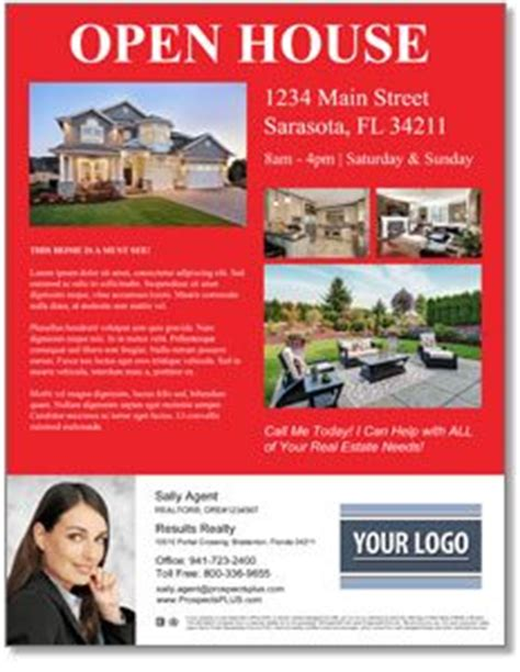 real estate open house flyer template free open house flyer templates download customize