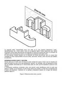 Sec Of Interior Dibujo Tecnico Cortes Secciones Y Roturas