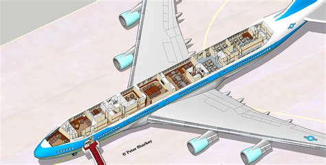Air Force One Floor Plan by Air Force One Map 3