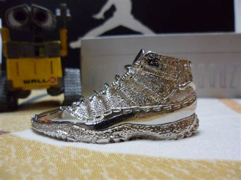 Limited Edition Kicks Not So Limited by Titanium Air 11 Sneaker Necklace And Key Chains