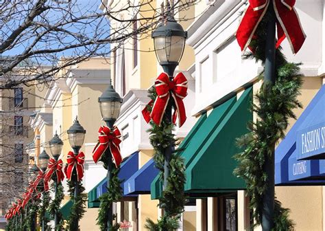 commercial christmas decorations holiday lighting take a stroll with mosca design s holiday pole decor