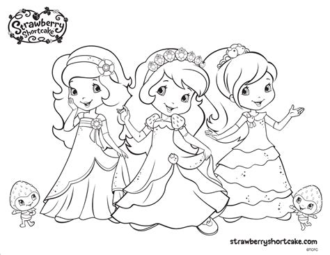 strawberry shortcake coloring pages princess strawberry shortcake coloring pages printable activities