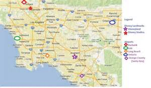 southern california airports map maps update 33782498 tourist attractions map in southern