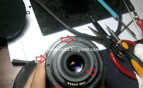 Pembersih Mata Solder Kawat Tembaga Tempat catatan kecil david setiadi memperbaiki lensa canon 18 55