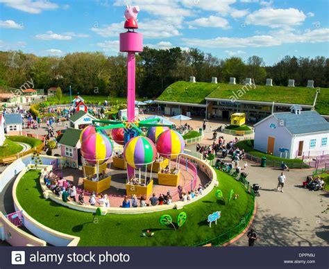 paultons park peppa pig world paultons park romsey hshire stock