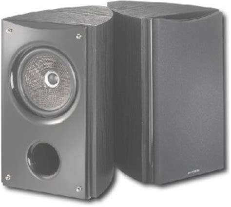 insignia 6 1 2 quot bass reflex bookshelf speakers hi fi