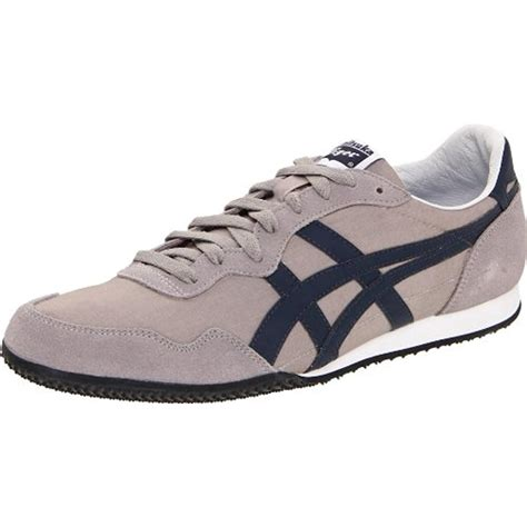 tiger athletic shoes onitsuka tiger 0757 womens serrano suede trim athletic