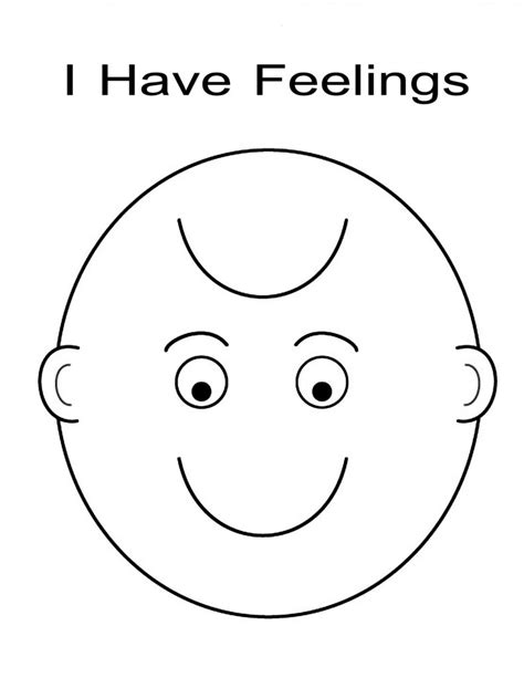 emotions free coloring pages