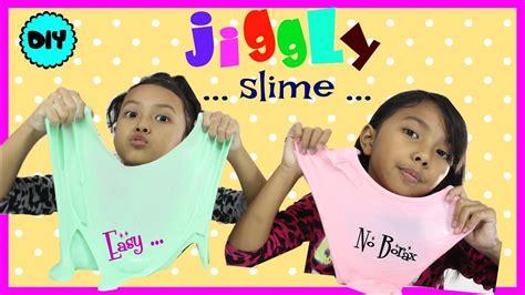 cara membuat slime keira charma cara membuat jiggly slime diy jiggly slime without borax