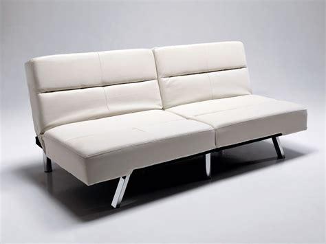 divani in ecopelle economici divano letto olmedo in ecopelle bianco o nero 175 cm