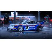 Picture Tuning Porsche 911 RWB Rothmans Race By Khyzyl Saleem Side