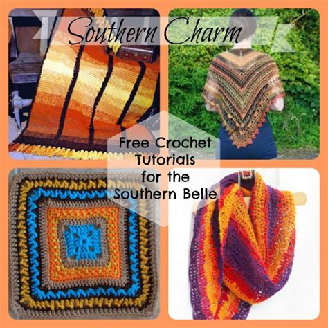 southern charm free crochet tutorials for the southern