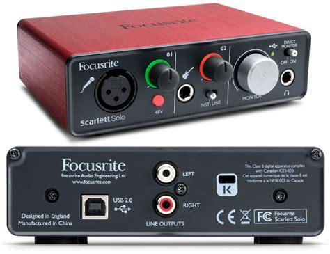 focusrite 2i2 best buy focusrite usb audio interface review the